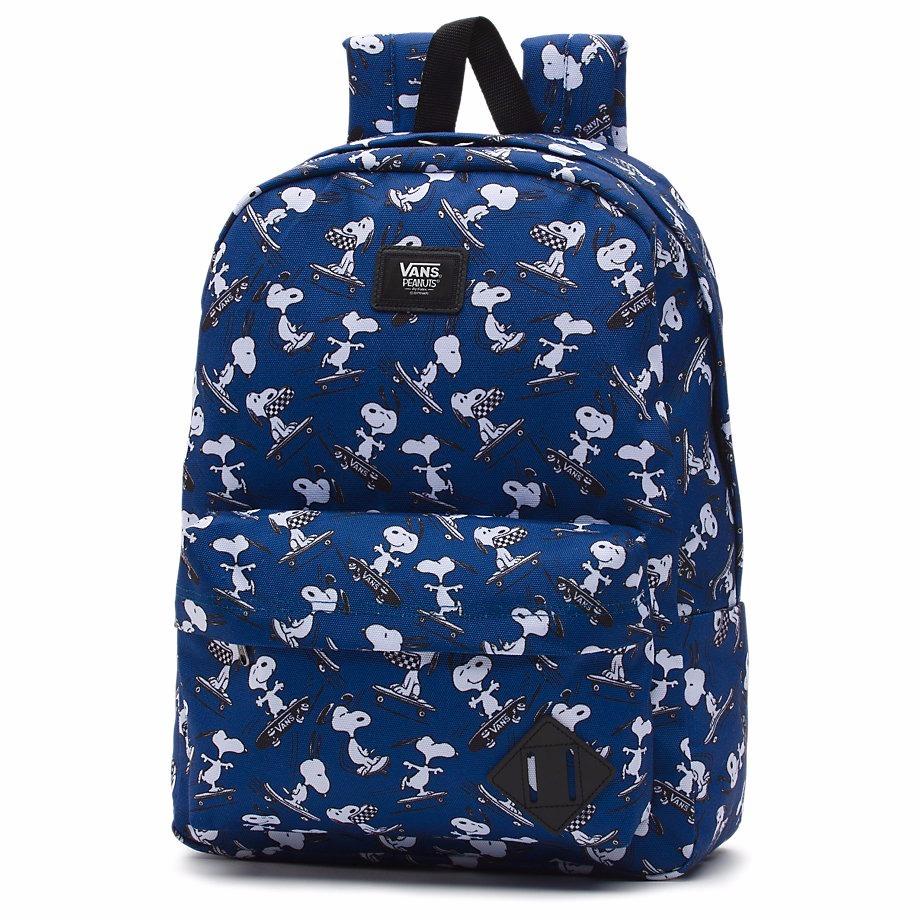 Mochila Vans X Peanuts Old Skool Backpack Snoopy -   1.120 89c4b9ed4ca