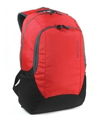 mochila vermelha  samsonite - taipan