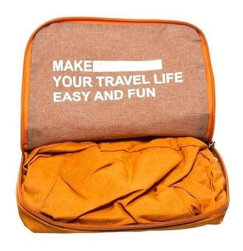 mochila viaje plegable premium travel season 20 l muy amplia