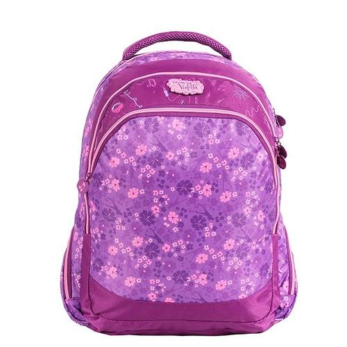 mochila violetta + estojo duplo - original