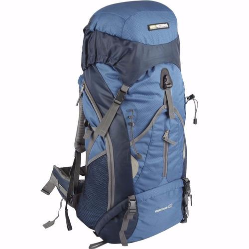 mochila waterdog cabrera 60 litros ideal camping