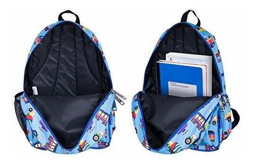 mochila wildkin de 15 pulgadas, mochila extra duradera con c