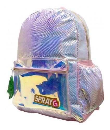 mochila y lapicera spray g - tornasol