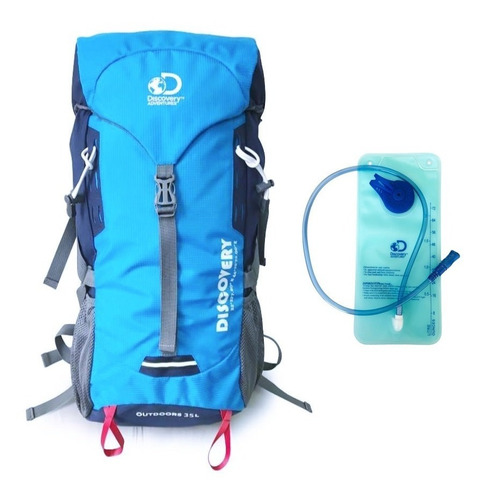 mochila yosemite 35l +bolsa hidratacion discovery adventures