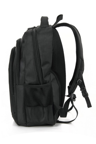 mochila zom zb-305b notebook 15,6 black impermeable calidad