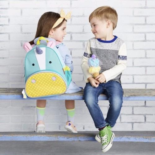 mochila zoo para niños - bebes skip hop unicornio