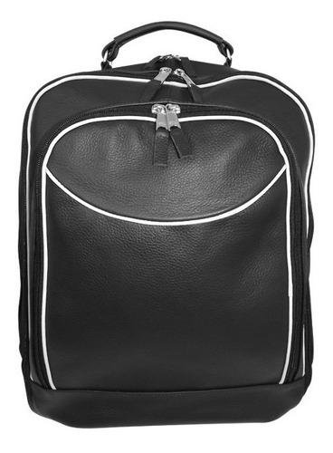 mochila/bolsa para viagem em couro legítimo raphael fernande