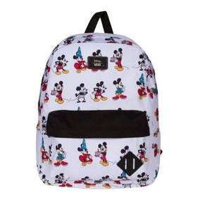 18155d9cbe34d Mochila Vans Old Skoo Disney Mickey 90 Birthday Look Trendy