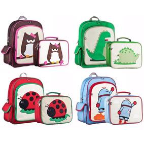 259e91dd731bb Kit Mochila Escolar Lonchera Backpack Niño Escuela Niña