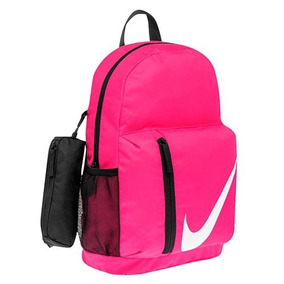 Mochila Nike Casual Estuche Mujer 35x25x12 Negro W65988 Dtt