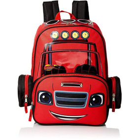 6e89a3c8c Nickelodeon Blaze And The Monster Machines 16pulg Mochila
