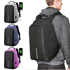 abc2233db5d Mochila Antirrobo Carga Usb Impermeable Escolar Laptop 15