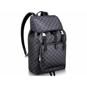 c6342c3d6 Bolsa Backpack Louis Vuitton Damier - Mochilas Negro en Mercado ...