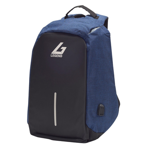 mochilas antirrobo legend m1713  black & blue