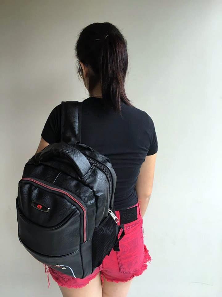 Bolsa Escolar Feminina Rock : Mochilas bolsa feminina escolar caderno couro sint?tico