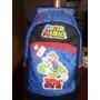 Mochila Super Mario Bros Con Yoshi Con Ruedas!!!