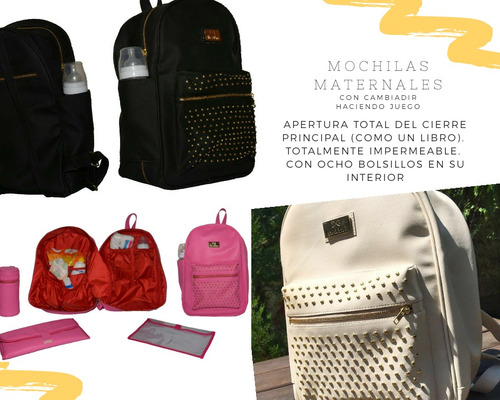 mochilas bolsos maternal mas de mamá envio gratis