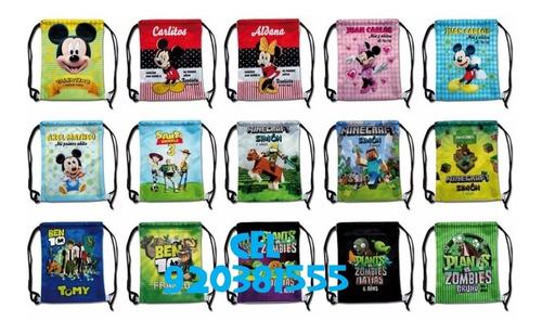 mochilas, carteritas, personalizadas
