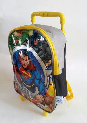 mochilas con ruedas de mickey mouse, batman, princesa sofia