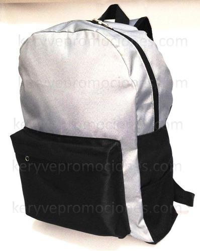 mochilas - con su logo - publicidad - fabricantes
