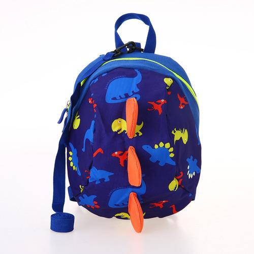 mochilas de nylon para niños dinosaurios coloridos
