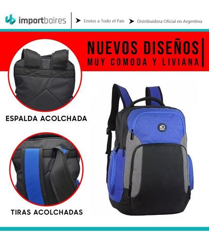 mochilas discovery porta notebook laptop reforzada ejecutiva