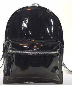 precio al por mayor seleccione original rebajas outlet Mochilas Charol Negra Material - Mochilas para Mujer Menos ...
