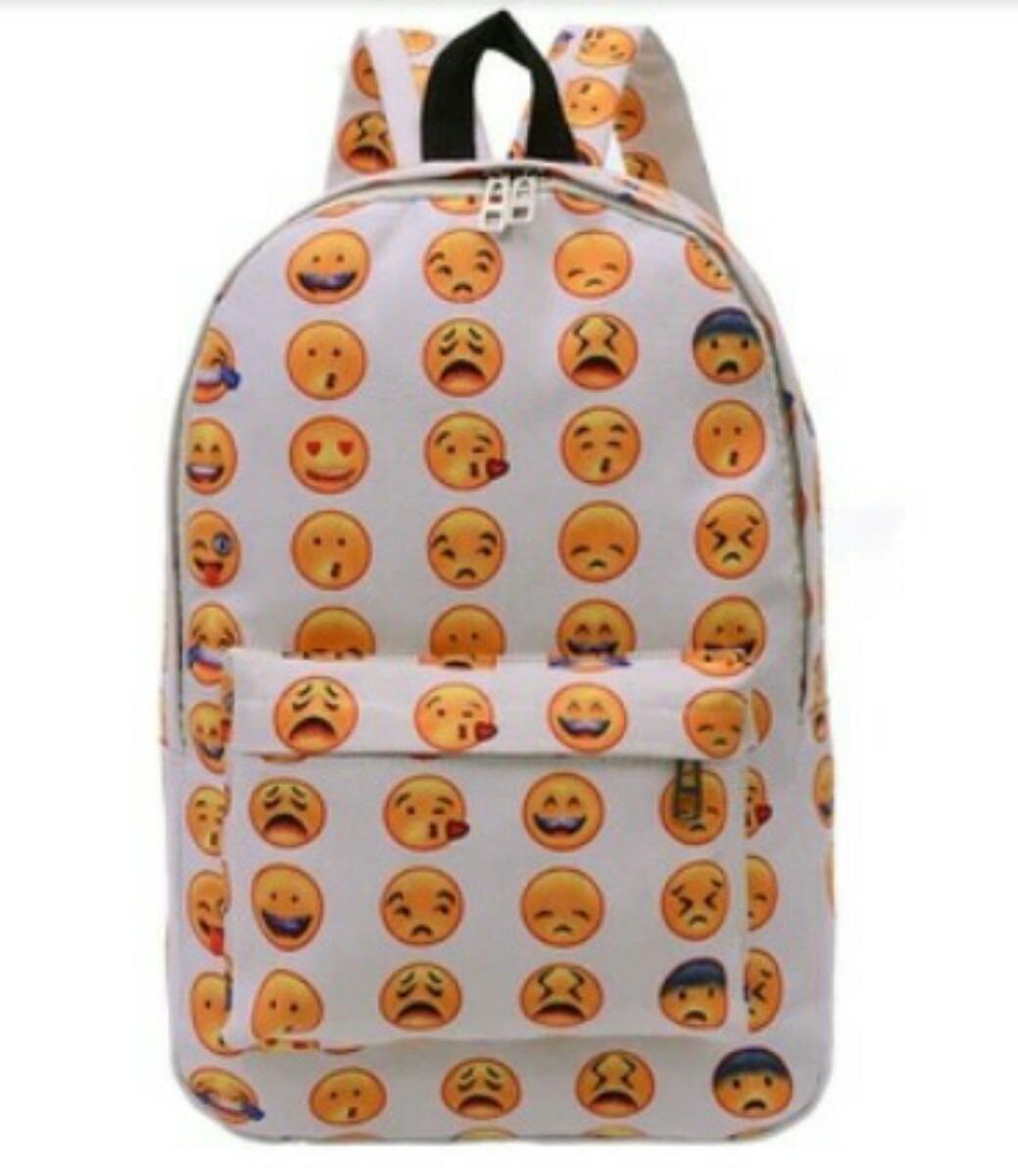 lo último 54cda 76c81 Mochilas Emojis Emoticons Carinhas