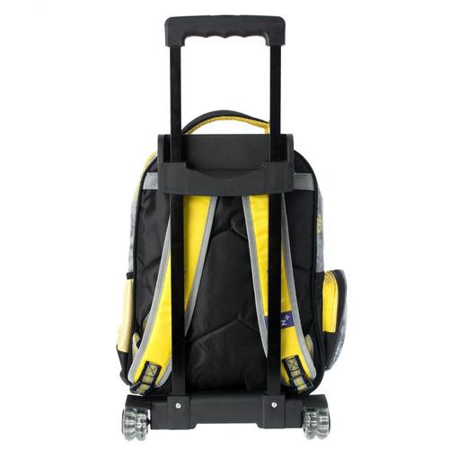 mochilas escolares carrito ruedas niño transformers 126493c