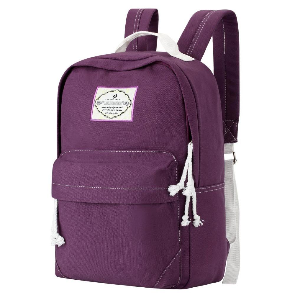 ea22e1390 Mochilas Escolares Juvenil Laptop Calidad Universidad Morada