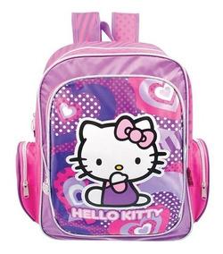 Mochilas Escolares Niña Primaria Infantil Hello Kitty 92550
