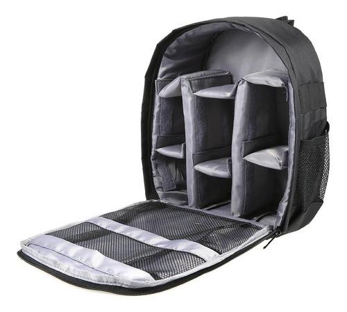 mochilas fotográficas para cámaras réflex y sus accesorios.