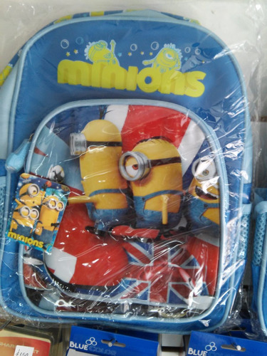 mochilas niños minions