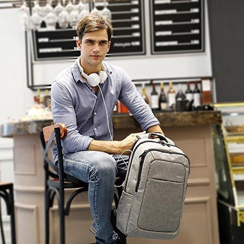 mochilas portátiles kopack slim business bag anti thief lágr