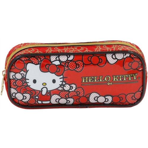 mochilas rodinhas hello kitty bow lancheira estojo xeryus g