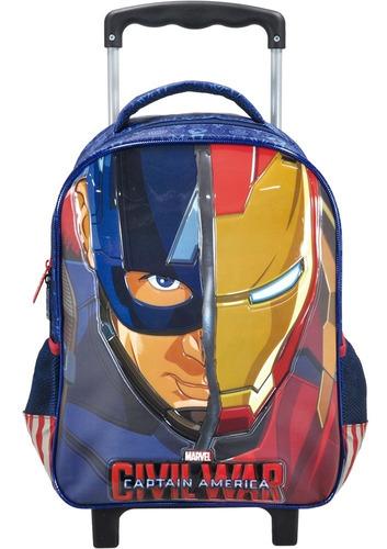 mochilete avengers clash capitão america - 6250