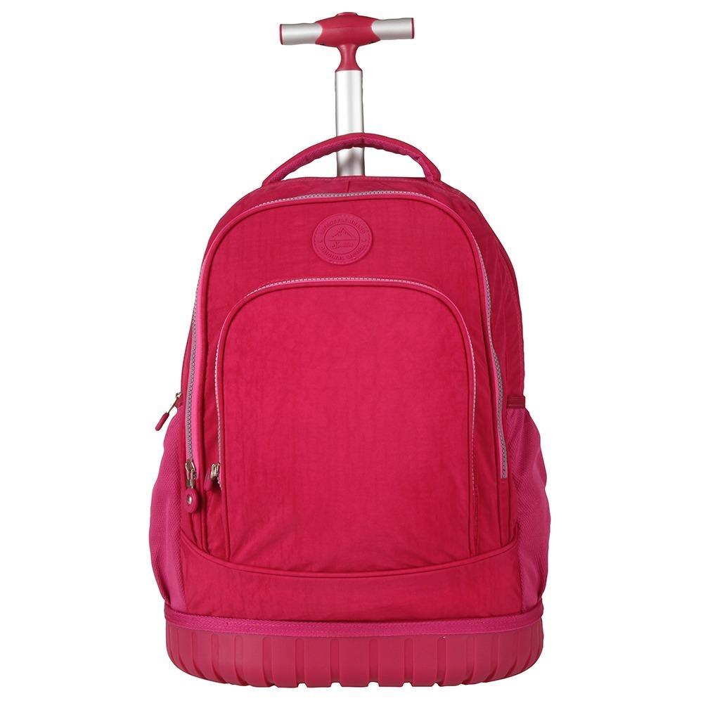 9241bc499 mochilete carrinho spector poliester pink 20l original. Carregando zoom.