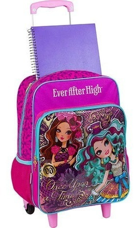 mochilete com bolso ever after high sestini - 64305