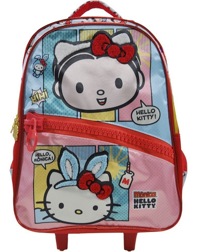 mochilete hello kitty e monica xeryus g- 7920