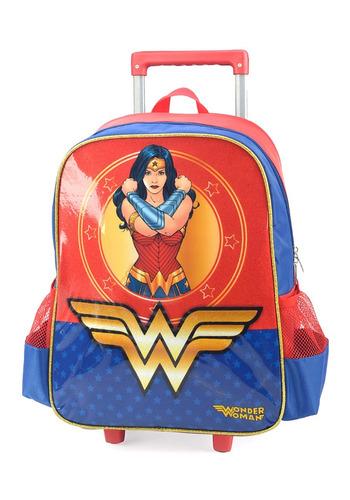 mochilete mulher maravilha m - 32932