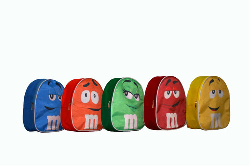 mochilitas dulceros recuerdos personalizados m&m op4