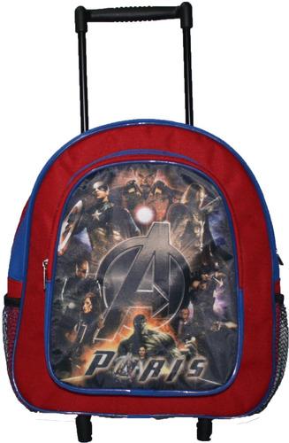 mochilitas escolar kinder personalizada op4 c/carro