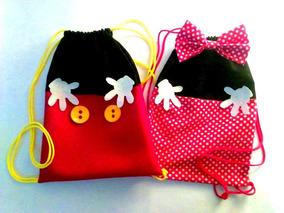 87eed4e29 Bolsitas Mickey Mouse - Souvenirs para Cumpleaños Infantiles ...