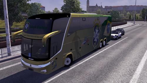 mod bus euro truck simulator 2 com rodoviária e muito mais!!