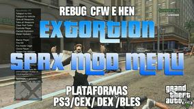 Mod Menu Extortion Gta5 Ps3 Cfw E Hen