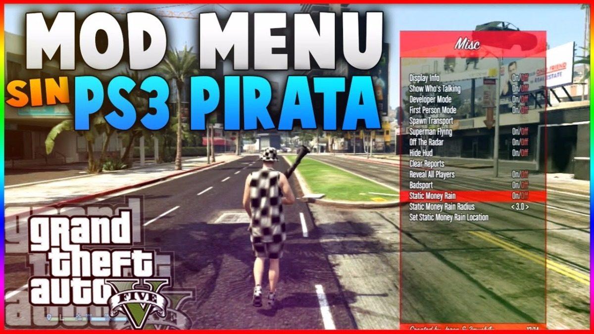descargar mod menu para gta 5 ps3 sin piratear