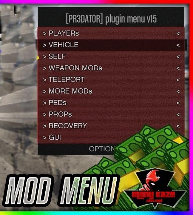 Predator Mod Menu