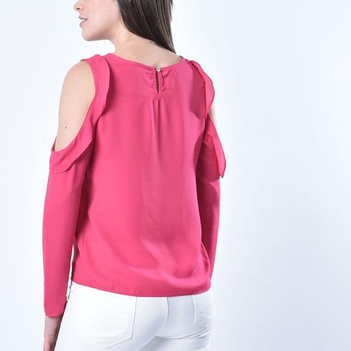 moda - blusa 880909344  basement  talla s para mujer color f