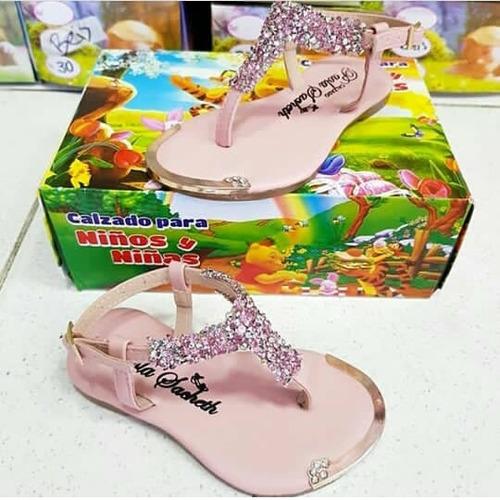 moda colección 2018. sandalias para niña