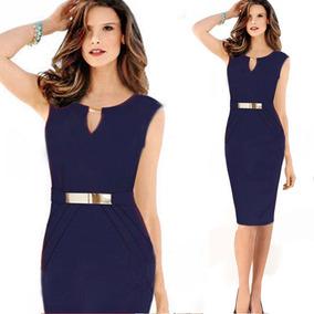 5db0a5ac0 Vestido Color Amarillo Canario Vestidos Largos Mujer - Vestidos en ...